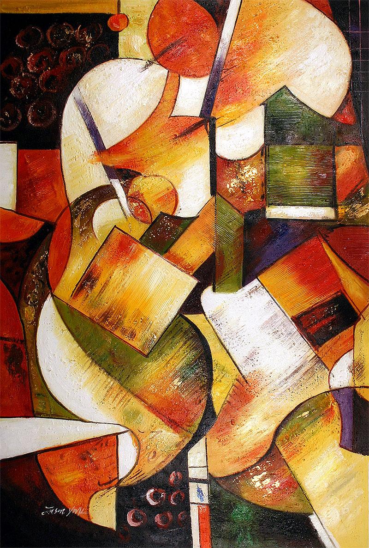 Modern art abstract art and contemporary art